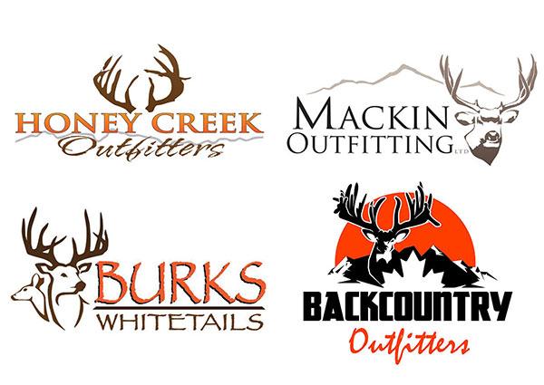Deer Hunting Logos