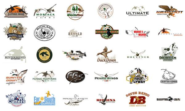 30 Awesome Waterfowl Logos Designed by 3plains