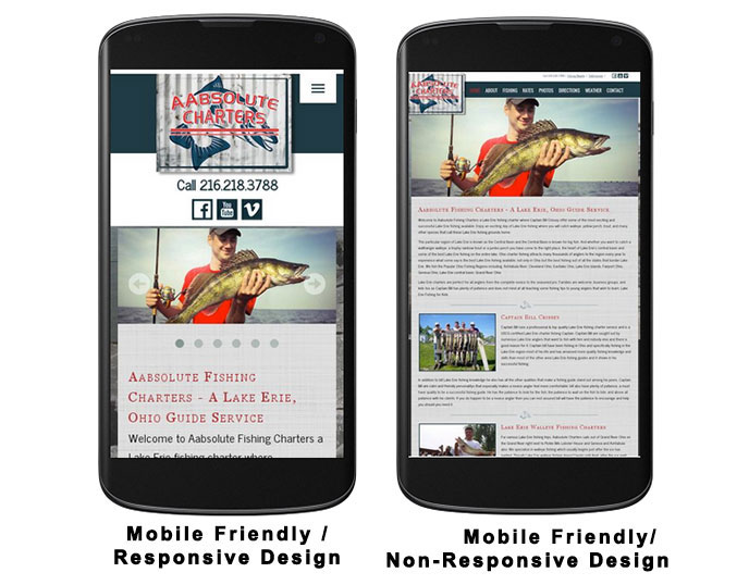 Mobile Friendly Website Example