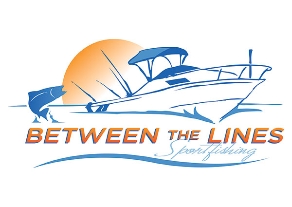 Custom Charter Fishing Logo Design