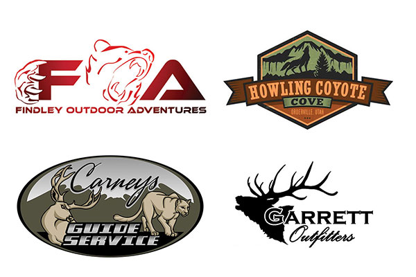 Custom Hunting And Fishing Logos