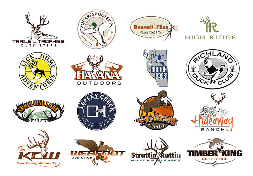 custom outdoor logo design outdoors logos