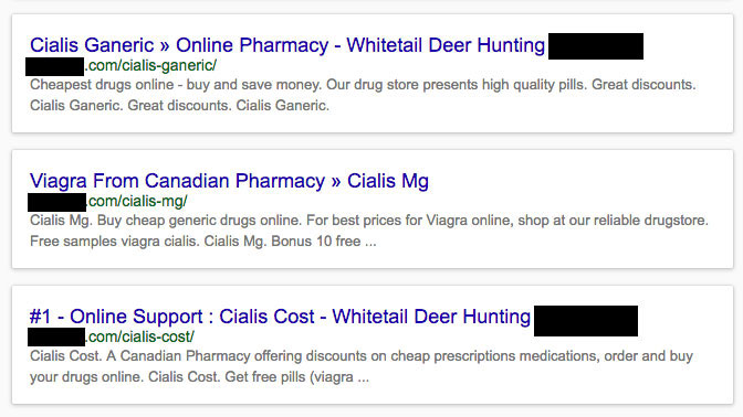 The Pharma Hack & SEO Implications
