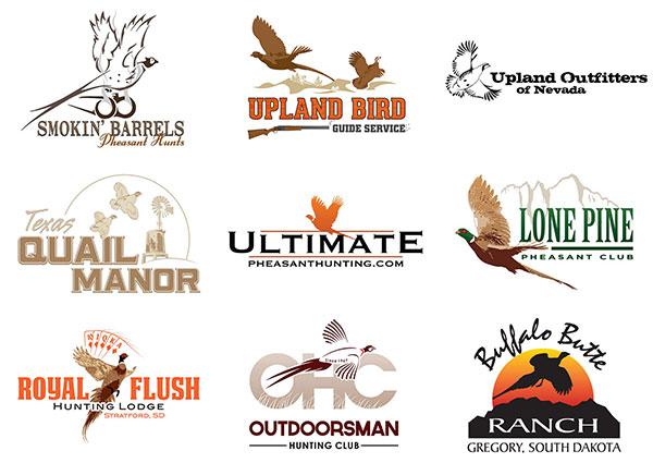 Upland Hunting Logo Design