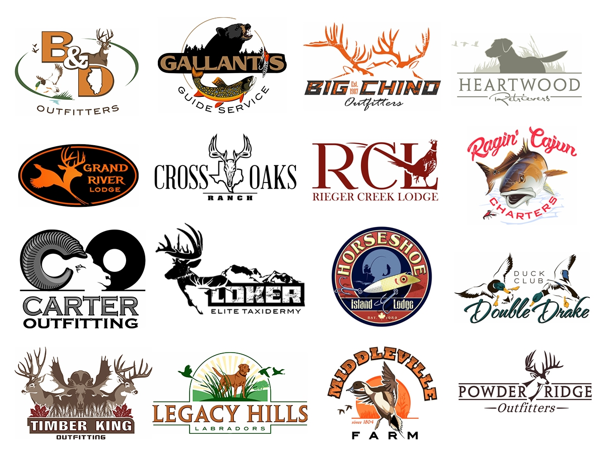 Hunting Industry Custom Logo Design