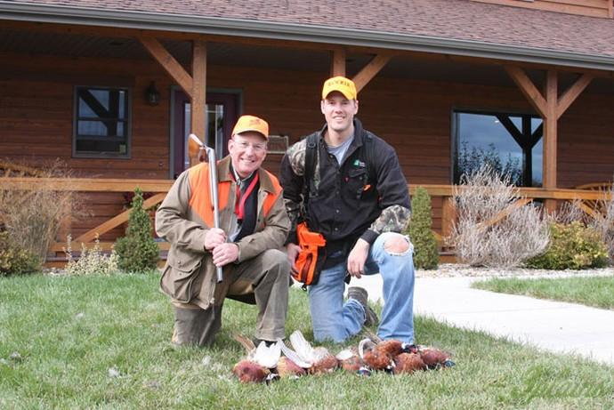 2009 South Dakota Governor's hunt with Ron Schmeits.