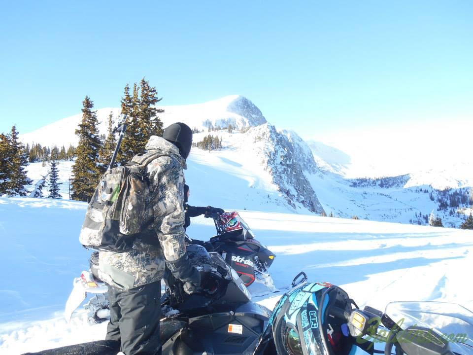 Snowy Range Wyoming Snowmobile Trip