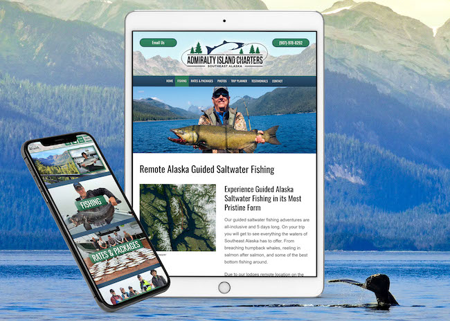 Remote Alaska Saltwater Fishing