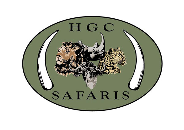 Big African Game Hunting Safari - Custom Drawn Logo