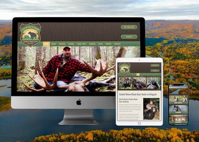 Maine Hunting & Fishing Lodge