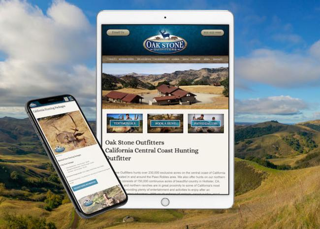 Hunting Club Website Design