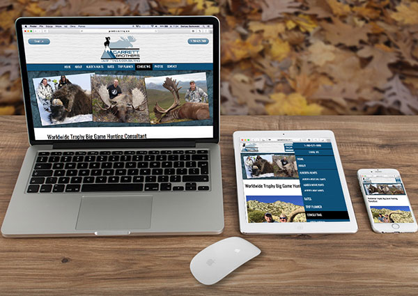 View Hunting Consultant Web Design