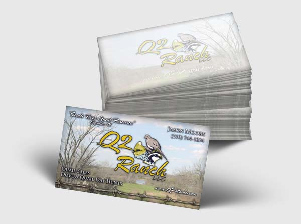 Business Cards for Quail Ranch