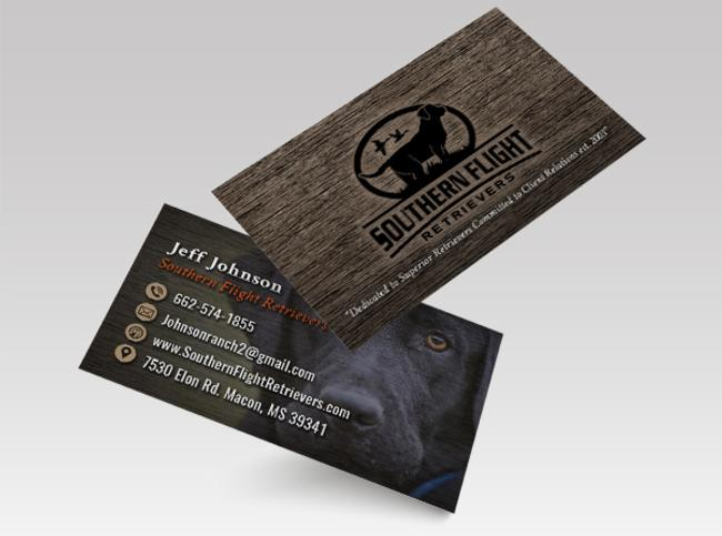 Dog Training Business Card Design