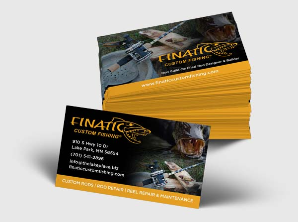 Custom fishing business cards design and printing finatic custom fishing business cards finatic custom fishing colourmoves