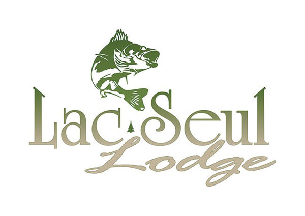 Simple Classic Custom Fishing Lodge Logo