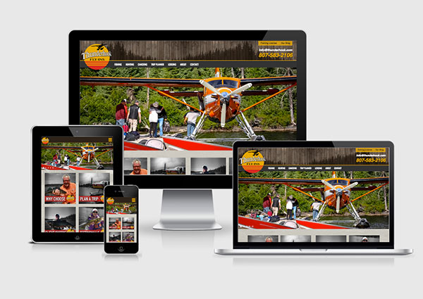Web Design for Fishing Guides, Lodges, Charters
