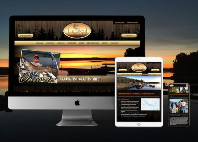 Fishing Lodge Website Design