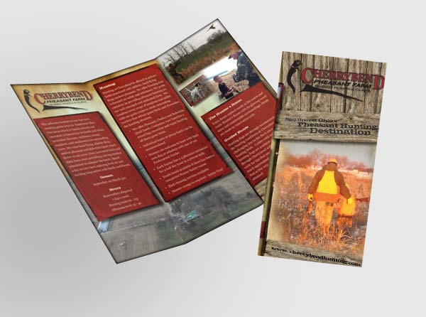Pheasant Farm Brochure Design