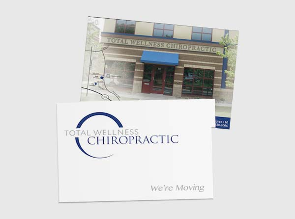 Chiropractor Postcard Design and Creative
