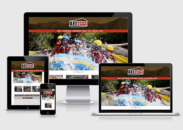 Adventure Outdoor Web Design