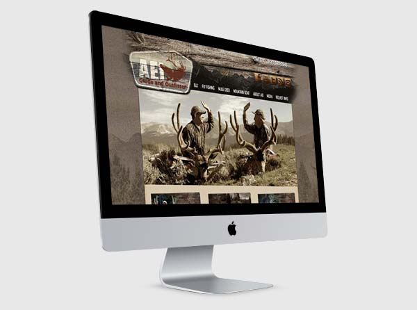 Hunting Outfitter Web Design