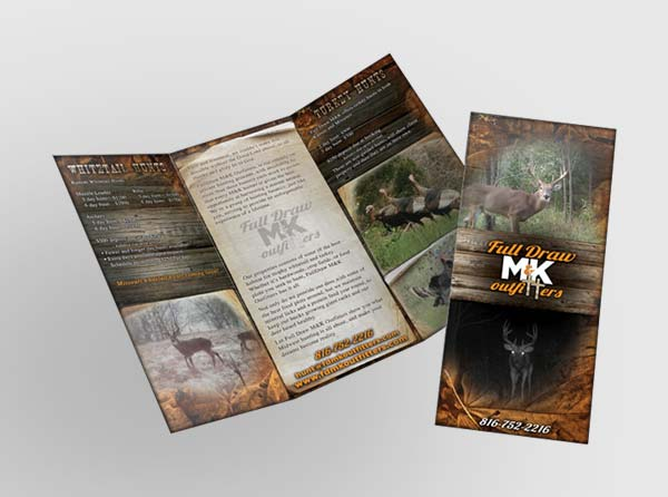 Archery Shop Brochure Design - Deer Hunting