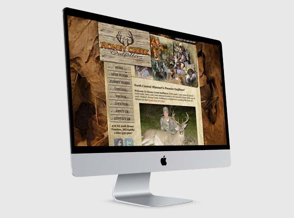 Deer Hunting Outfitter Web Design