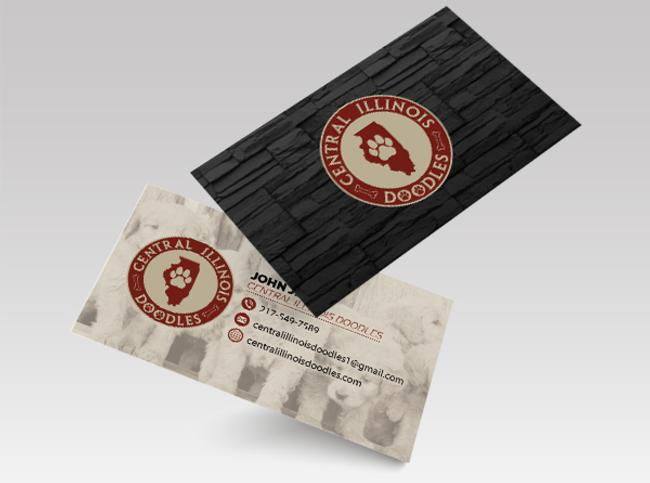 View Dog Breeder Business Card Design & Printing