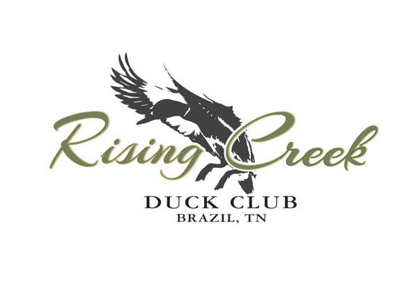 Semi-Custom Logo Design   Duck Hunting Club   Tennessee