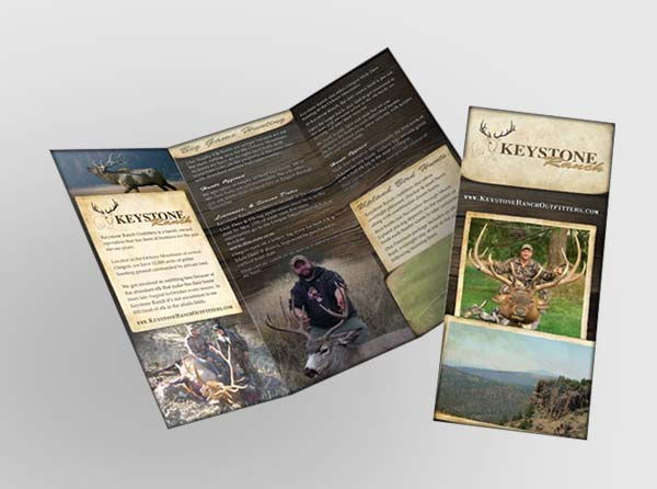 Elk Hunting Ranch Brochures