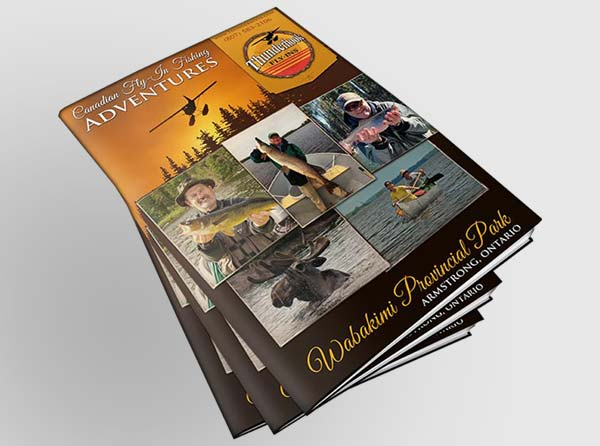 Fishing Outfitter Brochure