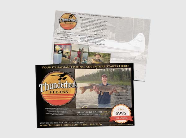 Fishing Lodge Postcards