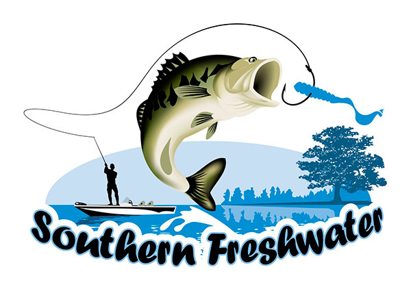 View Freshwater Fishing Logo Design