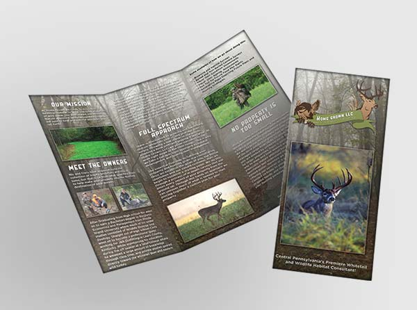 Advertising Pamphlet for Hunting