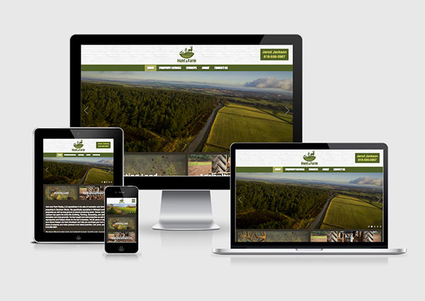 Hunting Land Web Design | Farm, Recreation, Ranch Land For Sale ...