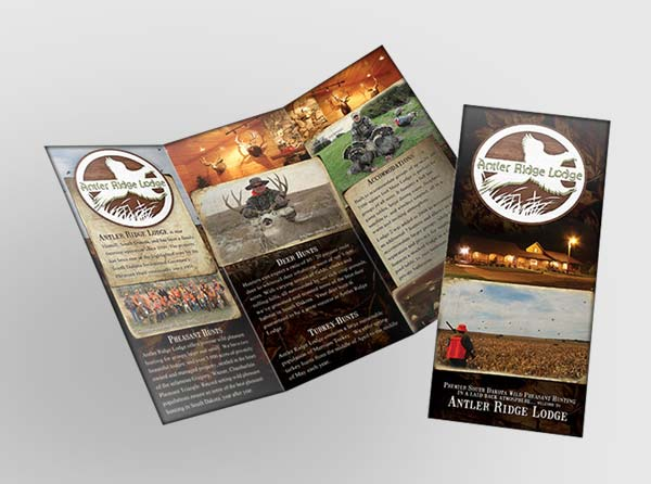 View Hunting Brochure Design