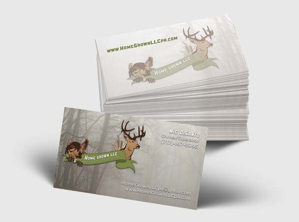 Hunting Lease Business Cards