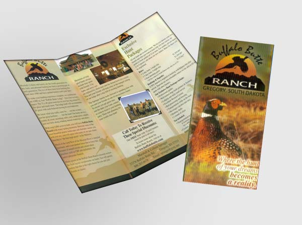 View Hunting Lodge Brochures - Printing & Design