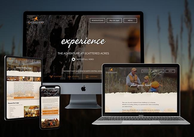 Lodging Web Design