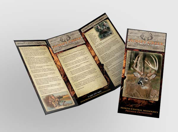 View Hunting Outfitters Brochure Design + Printing