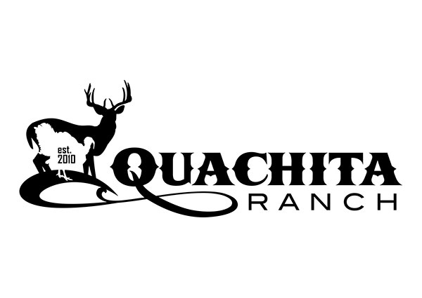 Quachita Ranch - Custom Hunting Ranch Logo Design