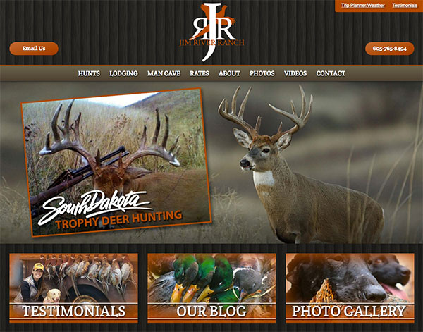 Gun Dog Web Design