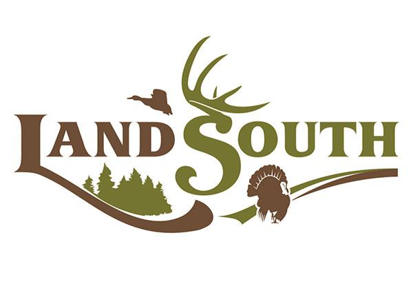 LandSouth Real Estate Logo Design