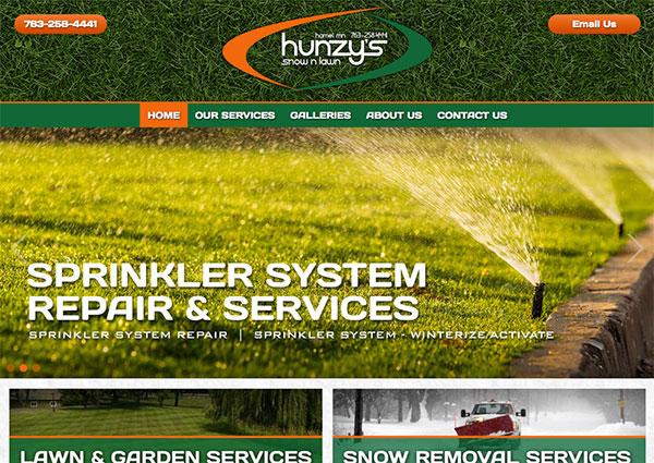 Landscape Company Web Design