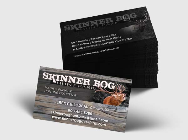 View Maine Hunt Park Business Cards - Design/Printing
