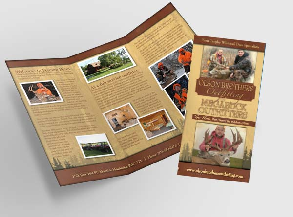 Manitoba Outfitter Brochures