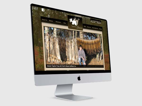 Alberta Hunting Web Design