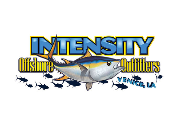 Saltwater Offshore Charter Fishing Logo Design