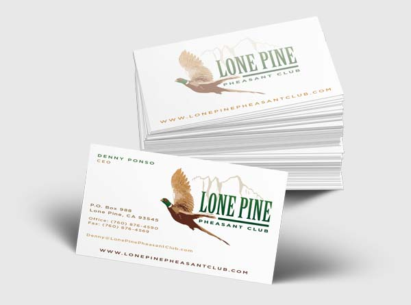 Business cards from 3plains bronze business card design reheart Gallery